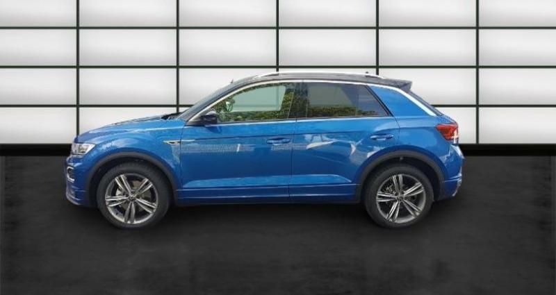Volkswagen T-Roc 2.0 TDI 150ch R-Line DSG7 Euro6d-T Bleu occasion à La Rochelle - photo n°3