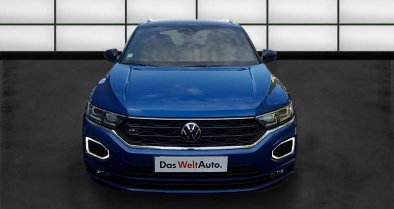 Volkswagen T-Roc 2.0 TDI 150ch R-Line DSG7 Euro6d-T Bleu occasion à La Rochelle - photo n°2