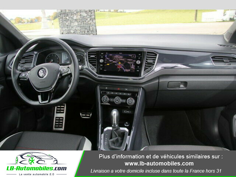 Volkswagen T-Roc 2.0 TSI 190 DSG 4Motion Blanc occasion à Beaupuy - photo n°2