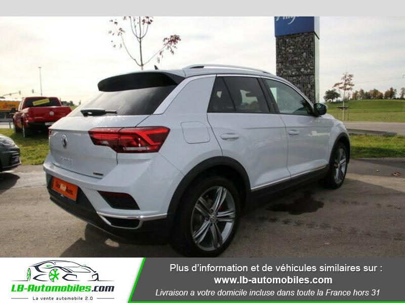 Volkswagen T-Roc 2.0 TSI 190 DSG 4Motion Blanc occasion à Beaupuy - photo n°3