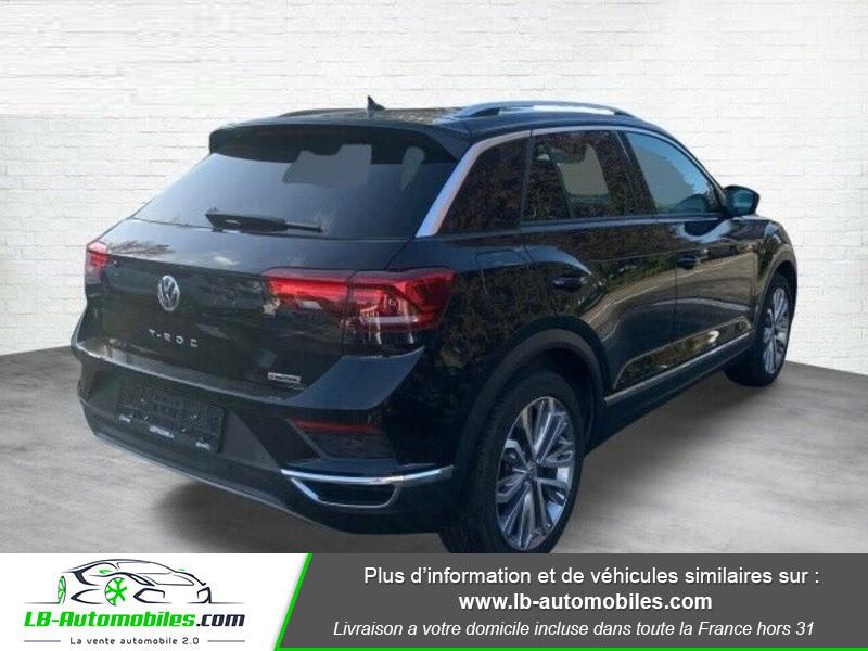 Volkswagen T-Roc 2.0 TSI 190 DSG 4Motion Noir occasion à Beaupuy - photo n°3