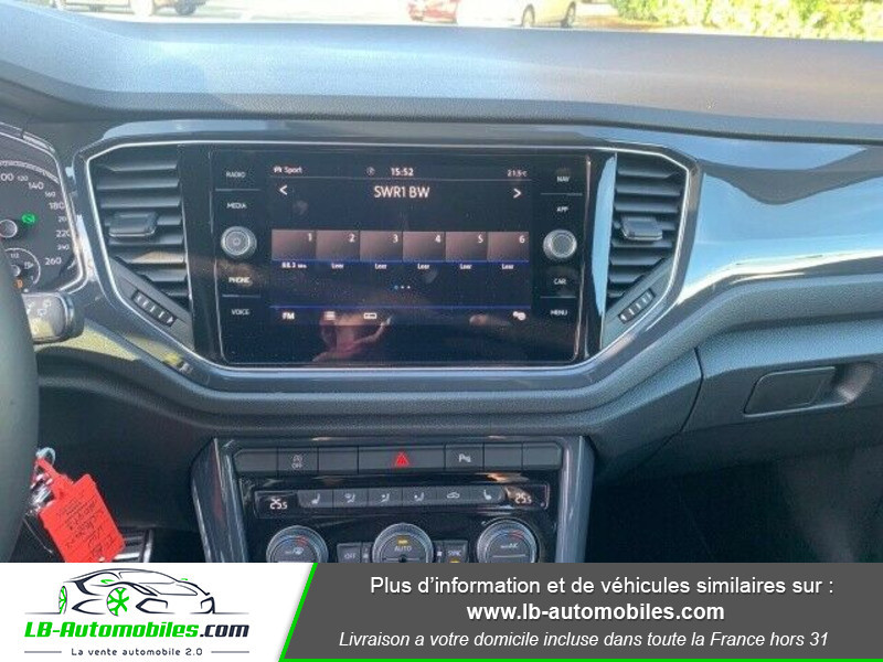 Volkswagen T-Roc 2.0 TSI 190 DSG 4Motion Noir occasion à Beaupuy - photo n°8