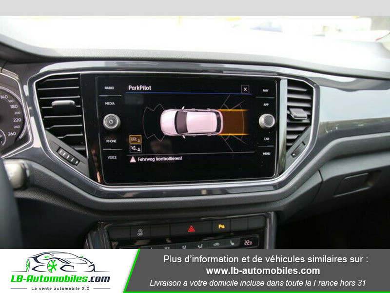 Volkswagen T-Roc 2.0 TSI 190 DSG 4Motion Blanc occasion à Beaupuy - photo n°8