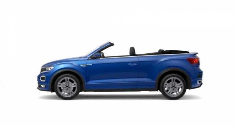 Volkswagen T-Roc Cabriolet 1.5 TSI EVO 150 Start/Stop DSG7 R-Line Bleu occasion à AHUY - photo n°2
