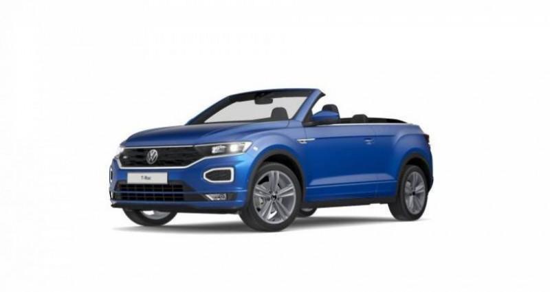 Volkswagen T-Roc Cabriolet 1.5 TSI EVO 150 Start/Stop DSG7 R-Line Bleu occasion à AHUY