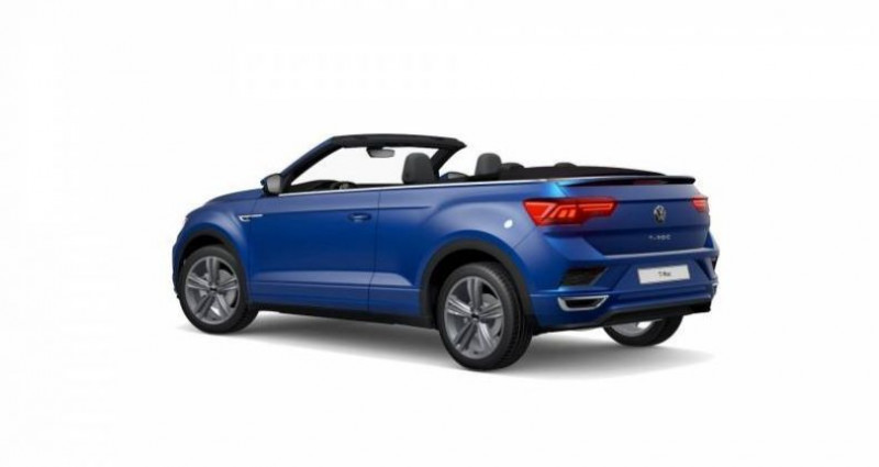Volkswagen T-Roc Cabriolet 1.5 TSI EVO 150 Start/Stop DSG7 R-Line Bleu occasion à AHUY - photo n°3