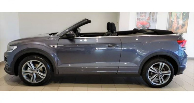 Volkswagen T-Roc Cabriolet 1.5 TSI EVO 150 Start/Stop DSG7 R-Line Gris occasion à LADOIX-SERRIGNY - photo n°4