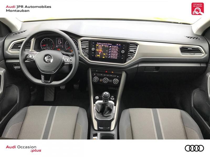 Volkswagen T-Roc T-Roc 1.0 TSI 115 Start/Stop BVM6 Lounge 5p  occasion à montauban - photo n°5