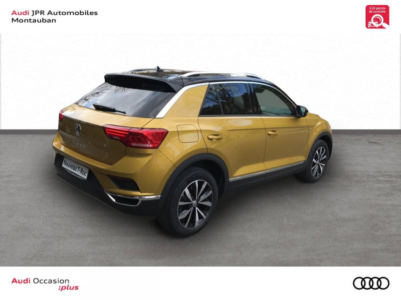 Volkswagen T-Roc T-Roc 1.0 TSI 115 Start/Stop BVM6 Lounge 5p  occasion à montauban - photo n°3