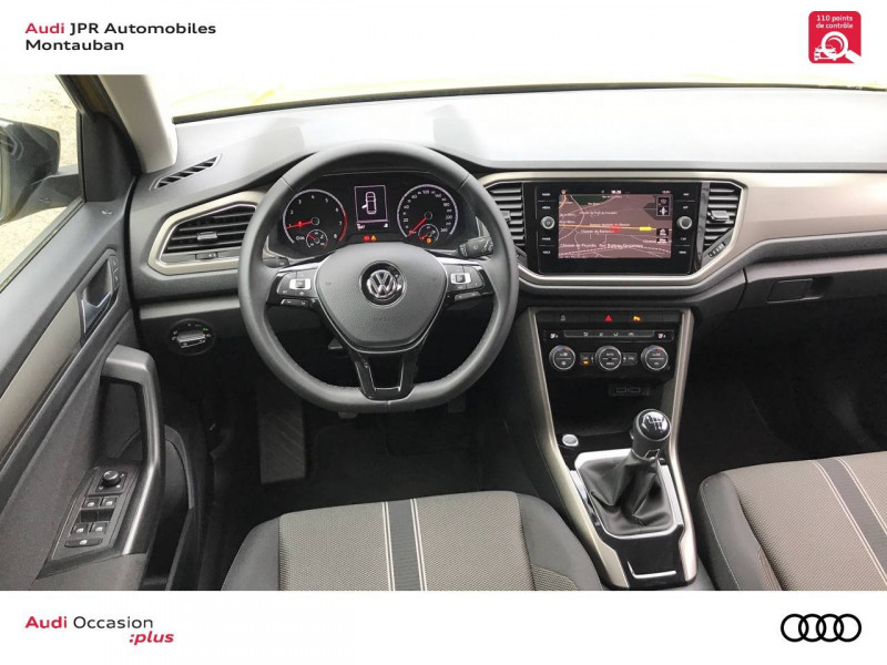 Volkswagen T-Roc T-Roc 1.0 TSI 115 Start/Stop BVM6 Lounge 5p  occasion à montauban - photo n°10