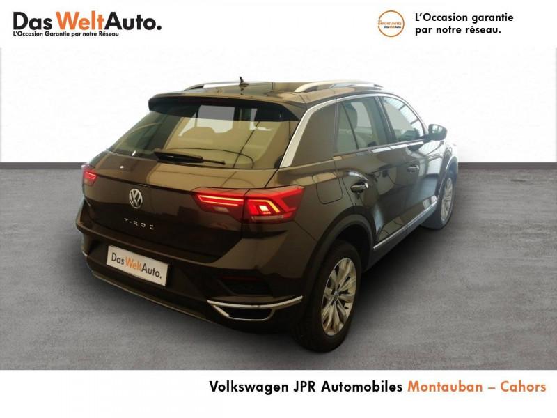 Volkswagen T-Roc T-Roc 1.5 TSI 150 EVO Start/Stop DSG7 Carat 5p Marron occasion à montauban - photo n°3