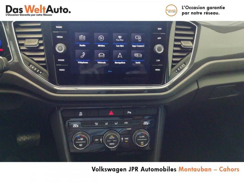 Volkswagen T-Roc T-Roc 1.5 TSI 150 EVO Start/Stop DSG7 Carat 5p Marron occasion à montauban - photo n°19
