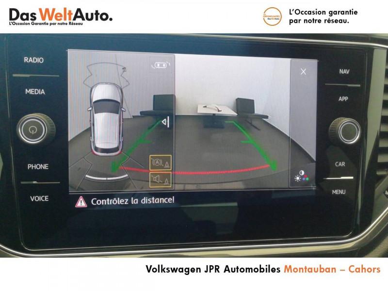 Volkswagen T-Roc T-Roc 1.5 TSI 150 EVO Start/Stop DSG7 Carat 5p Marron occasion à montauban - photo n°8