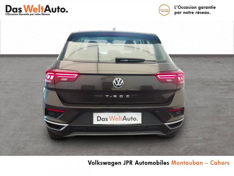 Volkswagen T-Roc T-Roc 1.5 TSI 150 EVO Start/Stop DSG7 Carat 5p Marron occasion à montauban - photo n°13
