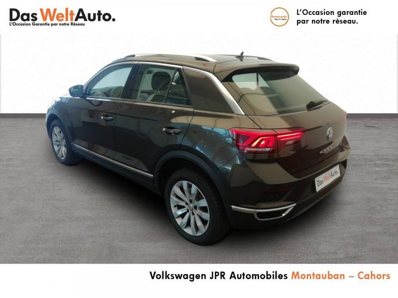 Volkswagen T-Roc T-Roc 1.5 TSI 150 EVO Start/Stop DSG7 Carat 5p Marron occasion à montauban - photo n°4