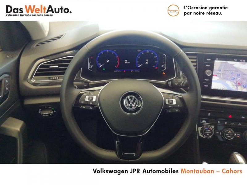 Volkswagen T-Roc T-Roc 1.5 TSI 150 EVO Start/Stop DSG7 Carat 5p Marron occasion à montauban - photo n°10