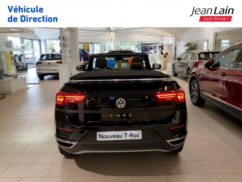 Volkswagen T-Roc T-Roc 1.5 TSI EVO 150 Start/Stop DSG7 Cabriolet Style 2p Noir occasion à Margencel - photo n°6
