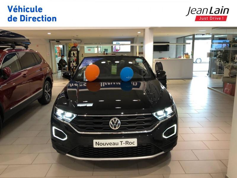 Volkswagen T-Roc T-Roc 1.5 TSI EVO 150 Start/Stop DSG7 Cabriolet Style 2p Noir occasion à Margencel - photo n°2