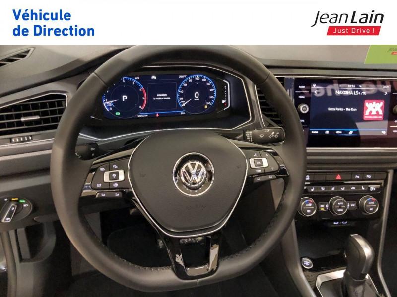 Volkswagen T-Roc T-Roc 1.5 TSI EVO 150 Start/Stop DSG7 Cabriolet Style 2p Noir occasion à Margencel - photo n°12