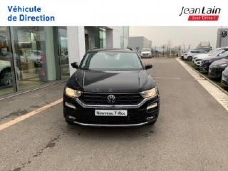 Volkswagen T-Roc T-Roc 2.0 TDI 150 Start/Stop BVM6 Lounge 5p Noir occasion à Cessy - photo n°2