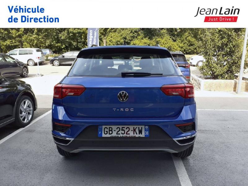 Volkswagen T-Roc T-Roc 2.0 TDI 150 Start/Stop DSG7 Lounge 5p Bleu occasion à Fontaine - photo n°6