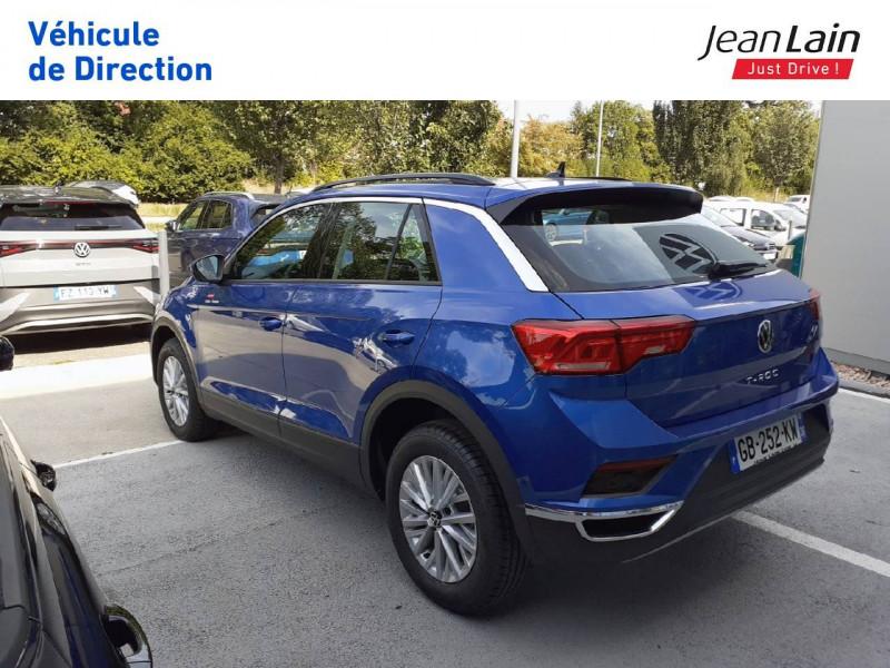 Volkswagen T-Roc T-Roc 2.0 TDI 150 Start/Stop DSG7 Lounge 5p Bleu occasion à Fontaine - photo n°7