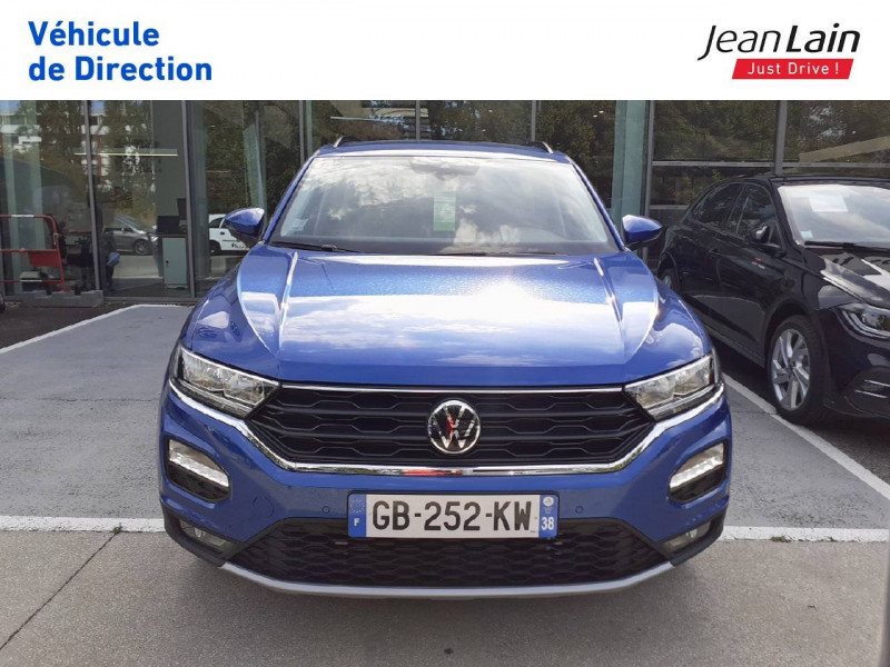 Volkswagen T-Roc T-Roc 2.0 TDI 150 Start/Stop DSG7 Lounge 5p Bleu occasion à Fontaine - photo n°2