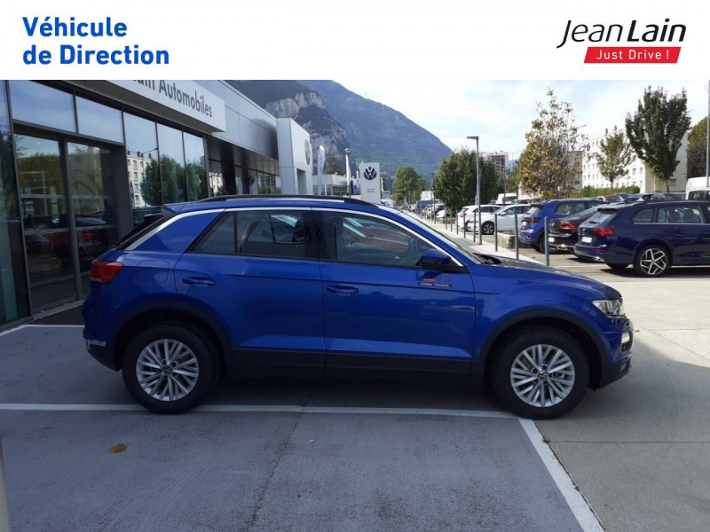 Volkswagen T-Roc T-Roc 2.0 TDI 150 Start/Stop DSG7 Lounge 5p Bleu occasion à Fontaine - photo n°4