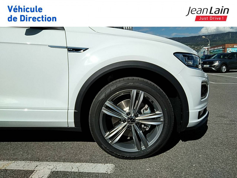 Volkswagen T-Roc T-Roc 2.0 TDI 150 Start/Stop DSG7 R-Line 5p Blanc occasion à Ville-la-Grand - photo n°9