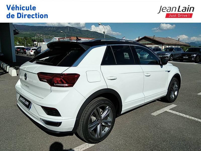 Volkswagen T-Roc T-Roc 2.0 TDI 150 Start/Stop DSG7 R-Line 5p Blanc occasion à Ville-la-Grand - photo n°5