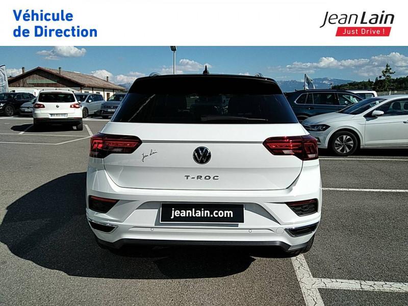 Volkswagen T-Roc T-Roc 2.0 TDI 150 Start/Stop DSG7 R-Line 5p Blanc occasion à Ville-la-Grand - photo n°6