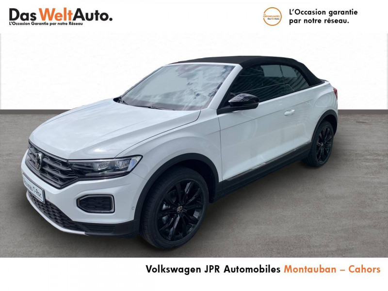 Volkswagen T-Roc T-Roc Cabriolet 1.0 TSI 115 Start/Stop BVM6 Style 2p Blanc occasion à Cahors