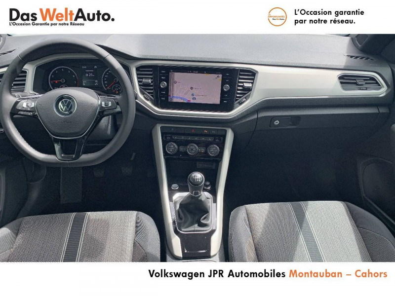 Volkswagen T-Roc T-Roc Cabriolet 1.0 TSI 115 Start/Stop BVM6 Style 2p Blanc occasion à Cahors - photo n°5