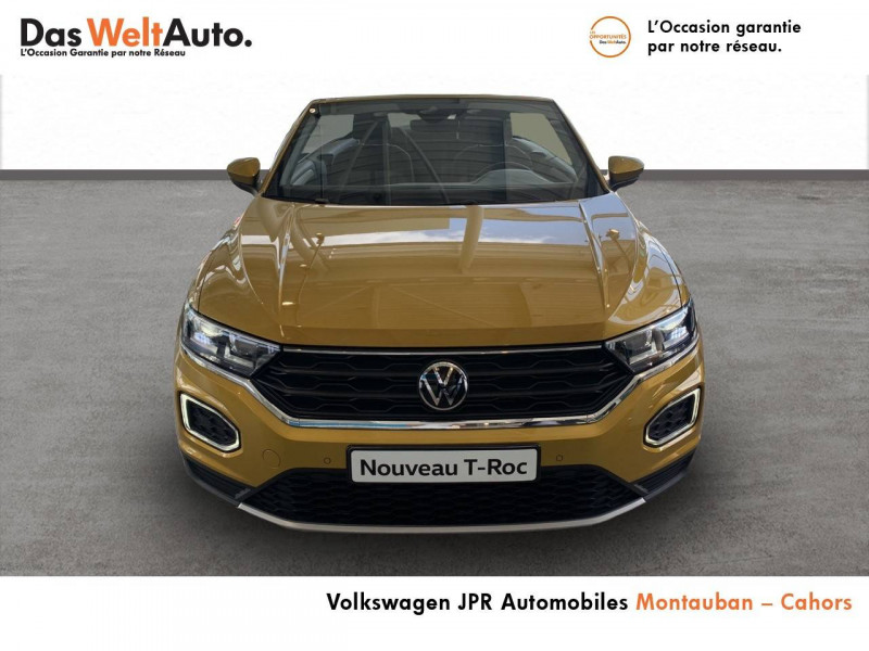 Volkswagen T-Roc T-Roc Cabriolet 1.0 TSI 115 Start/Stop BVM6 Style 2p  occasion à Cahors - photo n°2