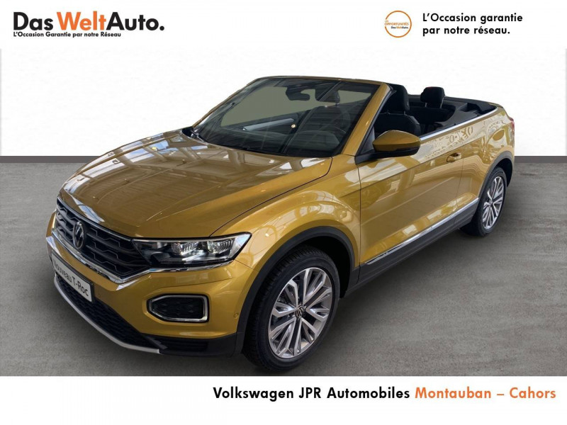 Volkswagen T-Roc T-Roc Cabriolet 1.0 TSI 115 Start/Stop BVM6 Style 2p  occasion à Cahors