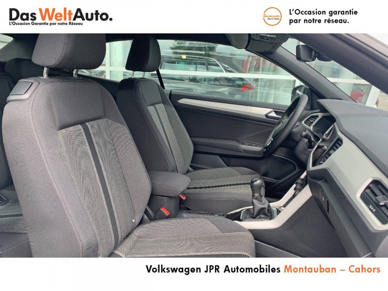 Volkswagen T-Roc T-Roc Cabriolet 1.0 TSI 115 Start/Stop BVM6 Style 2p Blanc occasion à Cahors - photo n°6