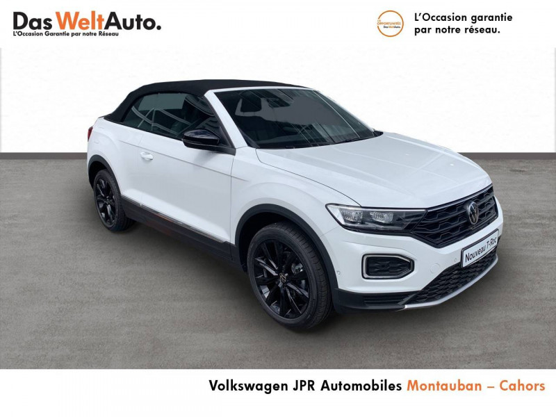Volkswagen T-Roc T-Roc Cabriolet 1.0 TSI 115 Start/Stop BVM6 Style 2p Blanc occasion à Cahors - photo n°3