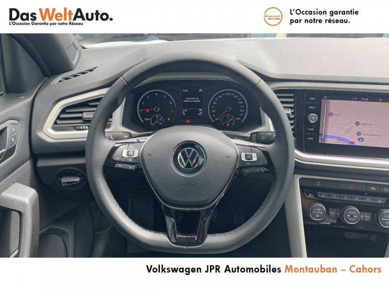 Volkswagen T-Roc T-Roc Cabriolet 1.0 TSI 115 Start/Stop BVM6 Style 2p Blanc occasion à Cahors - photo n°10