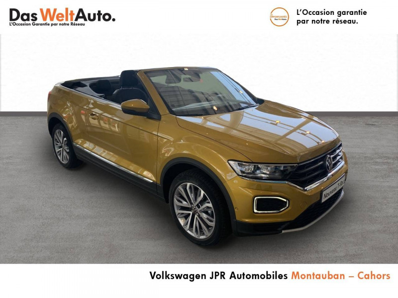 Volkswagen T-Roc T-Roc Cabriolet 1.0 TSI 115 Start/Stop BVM6 Style 2p  occasion à Cahors - photo n°3