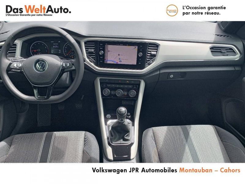 Volkswagen T-Roc T-Roc Cabriolet 1.0 TSI 115 Start/Stop BVM6 Style 2p Blanc occasion à montauban - photo n°5