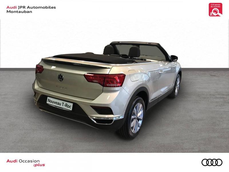 Volkswagen T-Roc T-Roc Cabriolet 1.0 TSI 115 Start/Stop BVM6 Style 2p  occasion à montauban - photo n°3