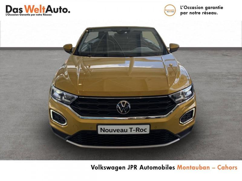 Volkswagen T-Roc T-Roc Cabriolet 1.0 TSI 115 Start/Stop BVM6 Style 2p  occasion à montauban - photo n°2