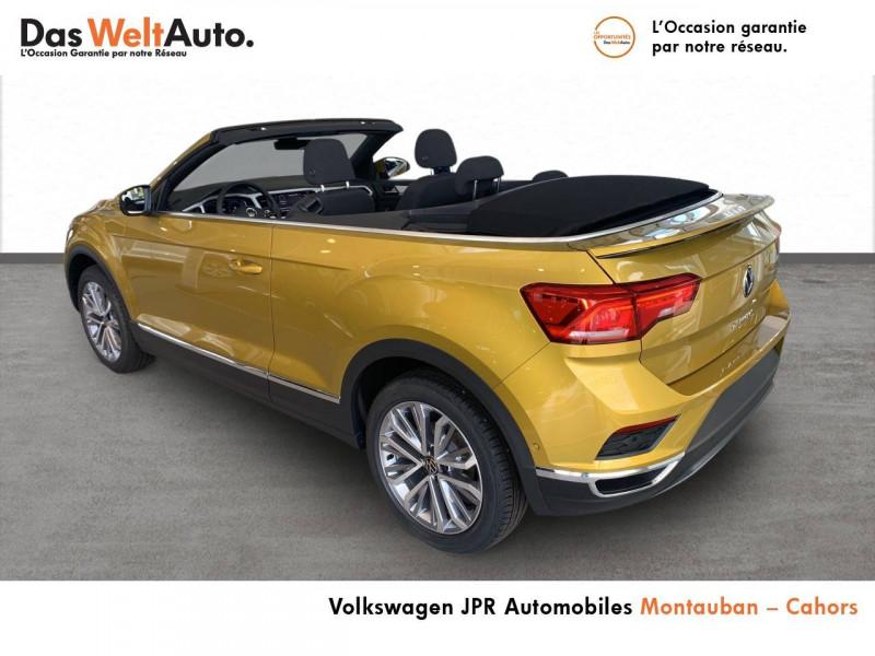 Volkswagen T-Roc T-Roc Cabriolet 1.0 TSI 115 Start/Stop BVM6 Style 2p  occasion à montauban - photo n°4