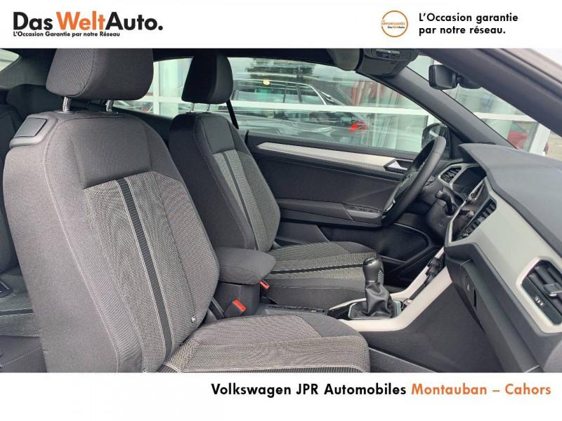 Volkswagen T-Roc T-Roc Cabriolet 1.0 TSI 115 Start/Stop BVM6 Style 2p Blanc occasion à montauban - photo n°6