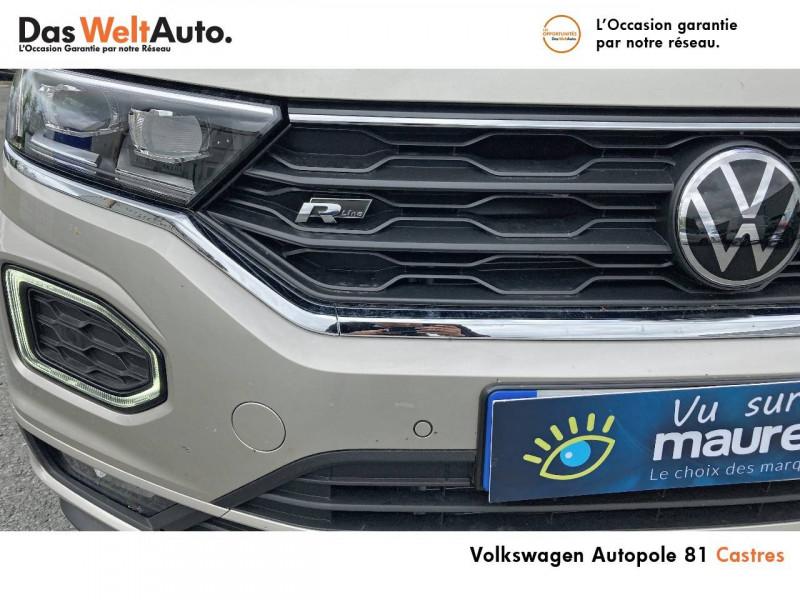Volkswagen T-Roc T-Roc Cabriolet 1.5 TSI EVO 150 Start/Stop DSG7 R-Line 2p Gris occasion à Castres - photo n°6