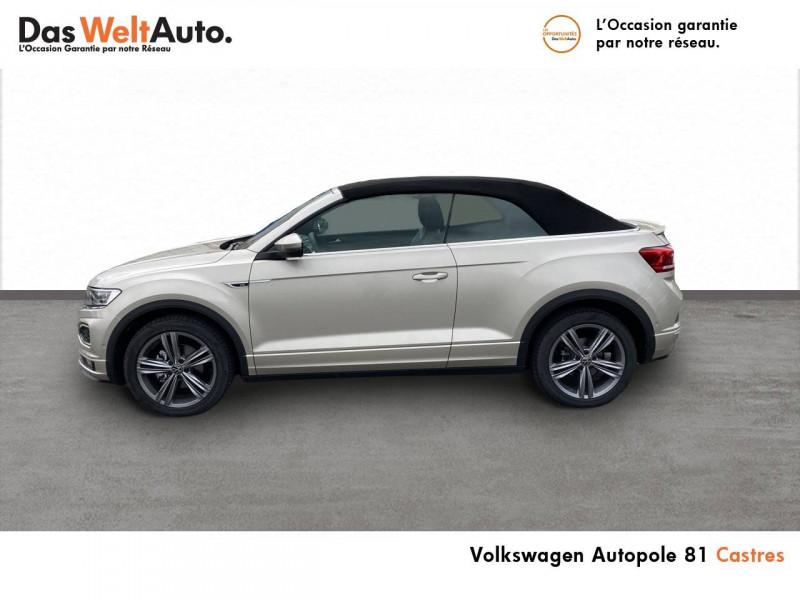 Volkswagen T-Roc T-Roc Cabriolet 1.5 TSI EVO 150 Start/Stop DSG7 R-Line 2p Gris occasion à Castres - photo n°2