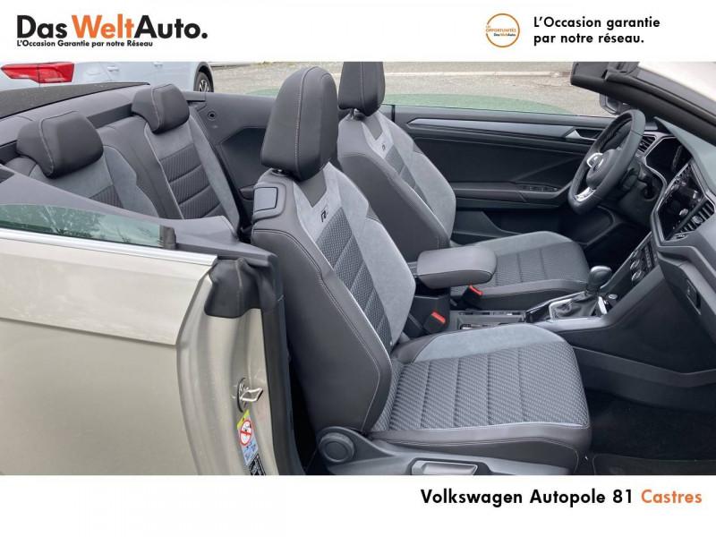 Volkswagen T-Roc T-Roc Cabriolet 1.5 TSI EVO 150 Start/Stop DSG7 R-Line 2p Gris occasion à Castres - photo n°10