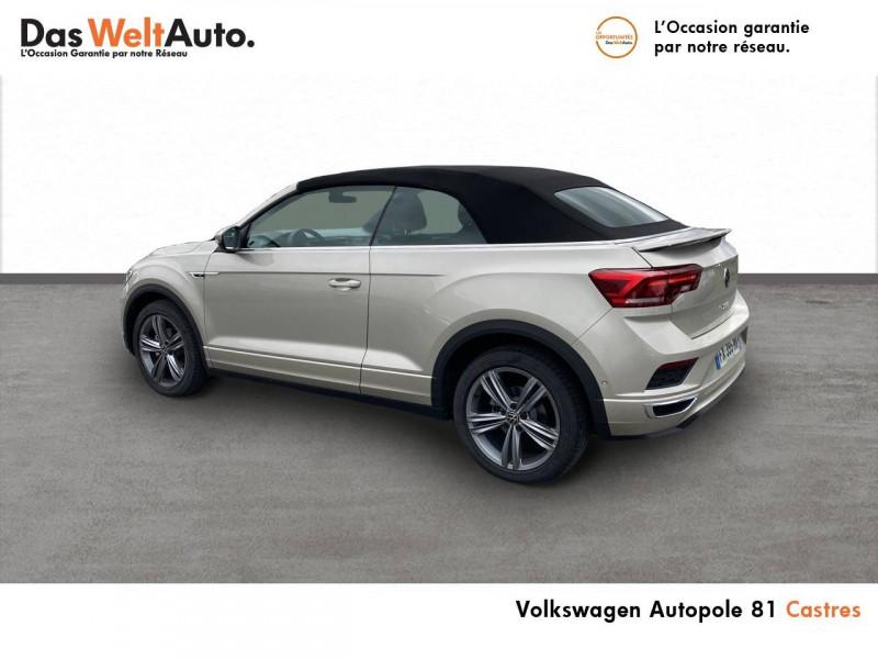 Volkswagen T-Roc T-Roc Cabriolet 1.5 TSI EVO 150 Start/Stop DSG7 R-Line 2p Gris occasion à Castres - photo n°9