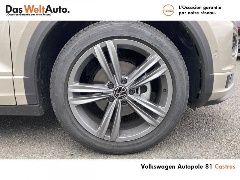 Volkswagen T-Roc T-Roc Cabriolet 1.5 TSI EVO 150 Start/Stop DSG7 R-Line 2p Gris occasion à Castres - photo n°4