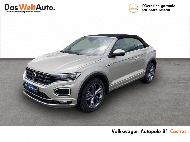 Volkswagen T-Roc T-Roc Cabriolet 1.5 TSI EVO 150 Start/Stop DSG7 R-Line 2p Gris occasion à Castres